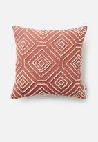 Sixth Floor - Aurel cushion cover - rust