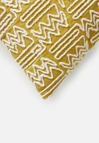 Sixth Floor - Kian cushion cover - mustard