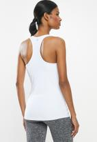Cotton On - Maternity fitted tank top  - white