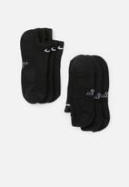 Nike - Everyday cush 3 pack - black/white