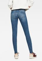 G-Star RAW - Lynn mid super skinny - faded blue
