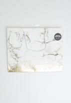 Typo - Stuff it bag medium with tissue paper - gold marble