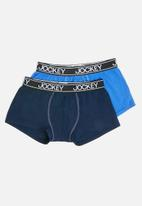 Jockey - 2 Pack exclusive pouch trunks - blue & navy