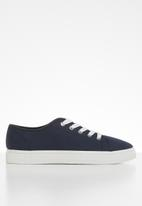 Cotton On - Canvas creeper plimsoll - navy