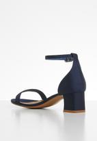 Cotton On - Lola low block heel - navy