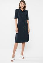Jacqueline de Yong - Adrianna dress - navy