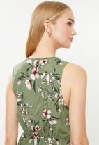 Vero Moda - Simply easy short dress - green