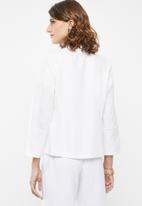edit - Soft jacket - white