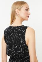 Vero Moda - Simply easy short dress - black