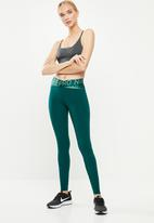 Nike - Nike Pro intertwist 2.0 tights - turquoise