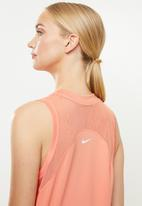 Nike - Nike dry miler tank top - pink