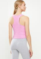 Cotton On - Rib racer back tank - pink