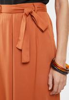edit - Paperbag culotte - rust