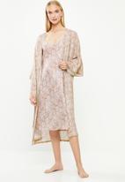 Superbalist - Bell sleeve robe - neutral