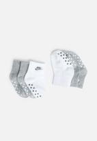 Nike - Nhn core futura gripper - grey & white