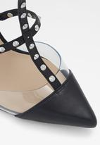 ALDO - Celadrie leather heel - black