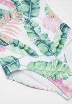 Rebel Republic - Printed full piece swimsuit - multi