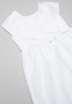 POP CANDY - Party dress with bow - white