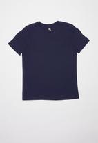 SOVIET - B orazio boys short sleeve logo tee - navy