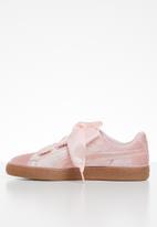 PUMA - Basket heart - silver pink & gold