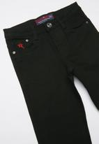 SOVIET - Boys skinny denim - black