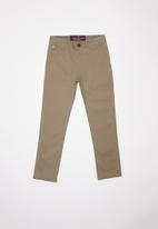 SOVIET - B Maldini cotton pants - brown