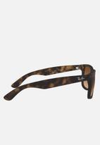 Ray-Ban - Justin sunglasses 55mm - brown