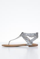 Steve Madden - Hidden sandal - silver