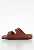 Birkenstock - Arizona sfb suede leather narrow - burgundy