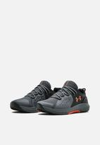 Under Armour - Charged commit tr 2.0 - black / pitch gray / martian red