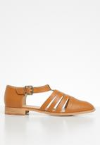 Superbalist - Lucy caged pump - tan