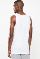 Jockey - 2 Pack eyelet vest - white