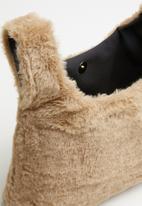 Superbalist - Maddie faux fur bag - beige