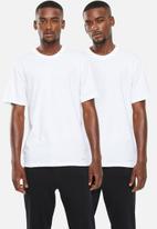 Jockey - 2 Pack crew neck undershirt - white