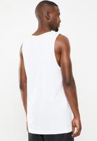 PUMA - Summer logo tank - white