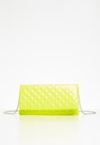 Steve Madden - Bvienna  clutch - neon yellow