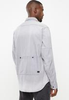 G-Star RAW - Hybrid archive rackam shirt long sleeve - grey