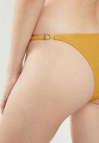 Cotton On - Tanga brazilian bikini bottom - yellow