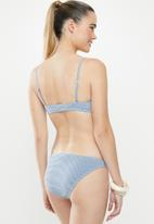 Cotton On - Classic full bikini bottom - blue