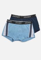 Jockey - 2 Pack urban trendz pouch trunk - blue & navy