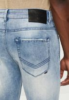 S.P.C.C. - Feather slim fit jeans - blue