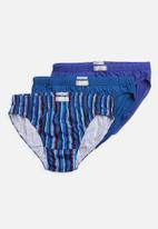 Jockey - 3 Pack fancy skant® - blue