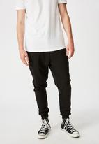 Factorie - Basic track pant - black