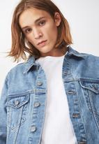Factorie - Denim jacket - blue