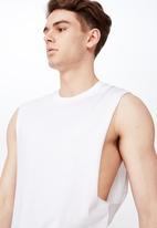 Factorie - True muscle tank - white