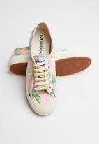 SUPERGA - Superga 2390 hawaiu fan - pink flower