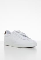 SUPERGA - 2843 club 's' - white & leopard