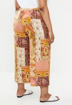edit Plus - Wide leg culottes - multi