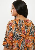 edit Plus - Keyhole blouse - multi