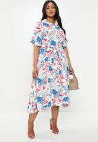 AMANDA LAIRD CHERRY - Plus size matlho dress - multi